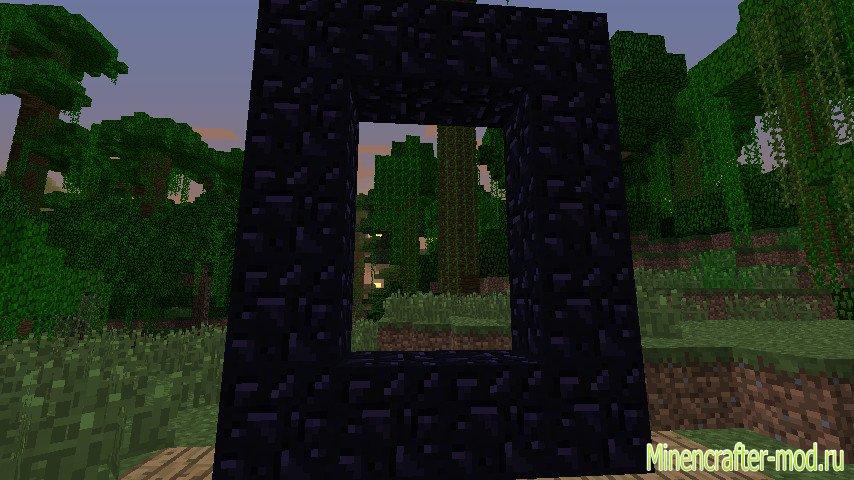 Minecraft как создать водяной портал